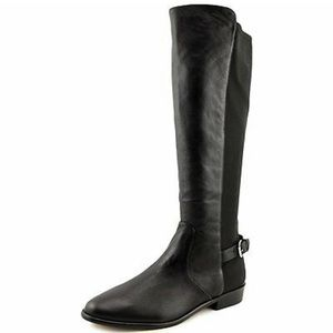Coach Liza Black Knee High Riding Boots